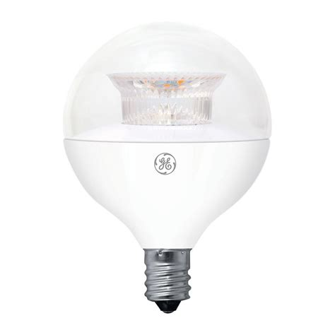 ge 40w equivalent soft white 2700k high definition g16 5