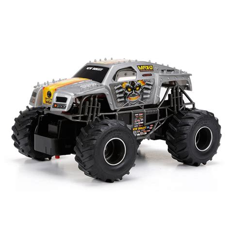 grave digger monster truck toys for kids new bright remote control 1 24 monster jam truck
