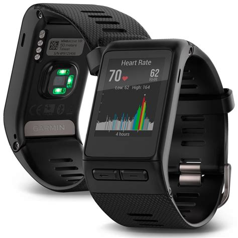 Garmin Vivoactive Hr Gps garmin vivoactive hr smartwatch gps regular black