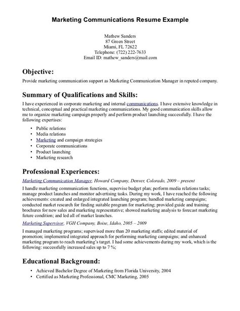 exles of resumes resume template for retail sle