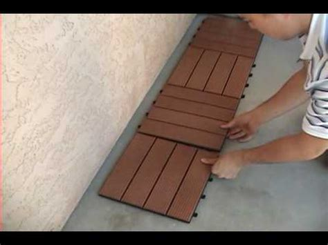 Shantex Eco Tile System   Installation Video   YouTube