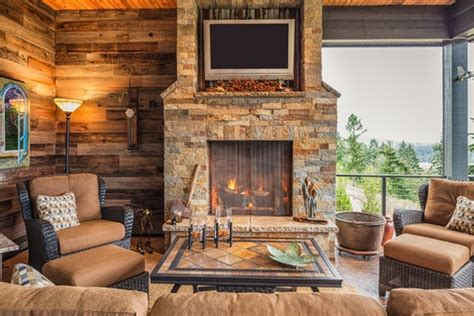 brick  stone fireplace pros cons comparisons  costs