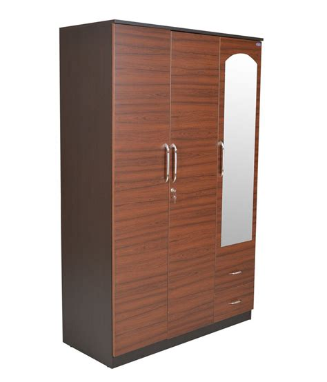 Purchase Wardrobe by Furnitech Ritz 3 Door Wardrobe Buy At Best