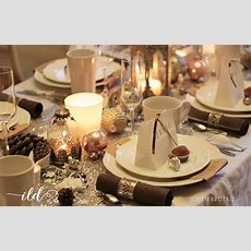 Tischdekoration Für Weihnachten