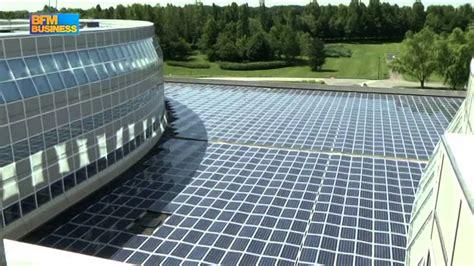 bouygues siege nouveaux panneaux solaires pour challenger le siège de