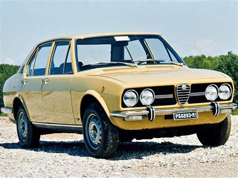 Alfa Romeo Alfetta Specs & Photos  1972, 1973, 1974, 1975