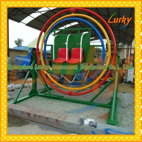 Excellent Amusement Rides For Sale Human Gyroscope For