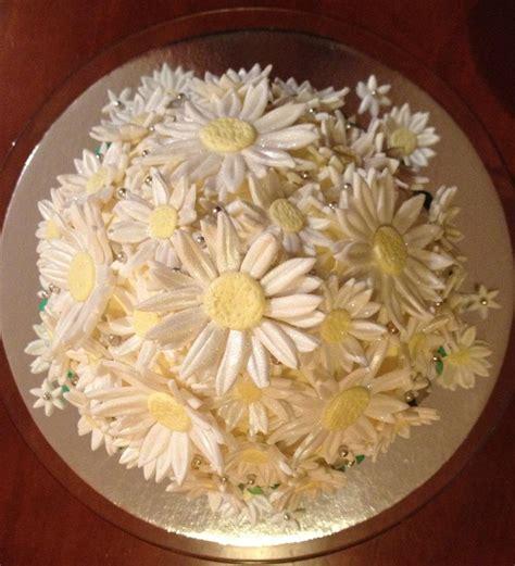 fondant daisies craft mum