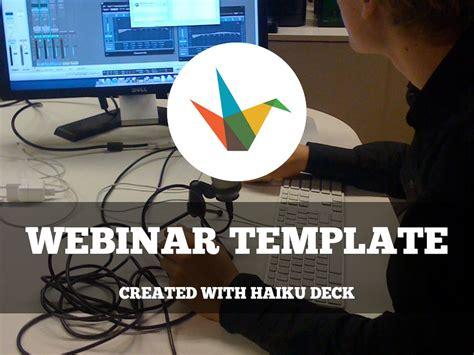 webinar template  reusable template