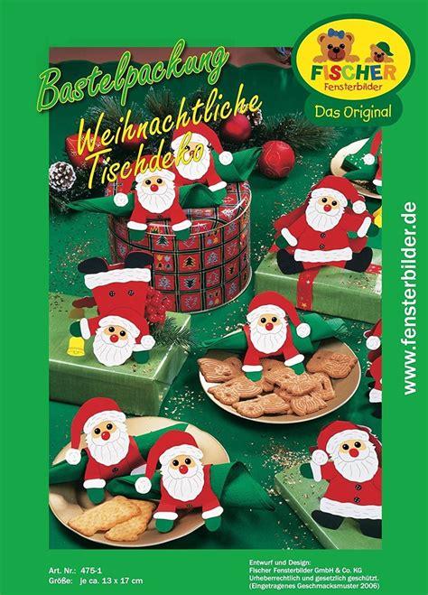 Weihnachtliche Tischdeko Selber Basteln by Weihnachtliche Tischdeko Zum Basteln Fischer Fensterbilder