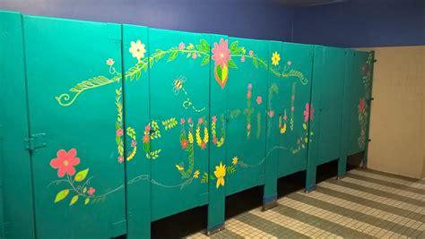 pin  emma evans   club school bathroom school