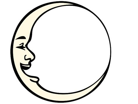 Moon Face Clip Art Gallery