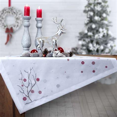 Sander Tischwäsche Weihnachten by Weihnachtstischdecke Crystals Sander Tischdecken
