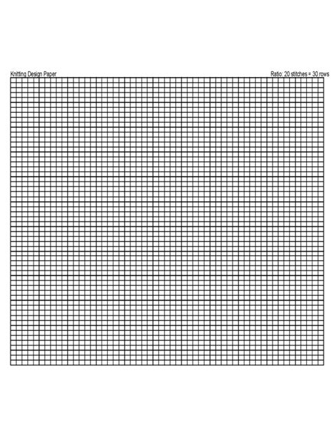 knitting graph paper   templates   word