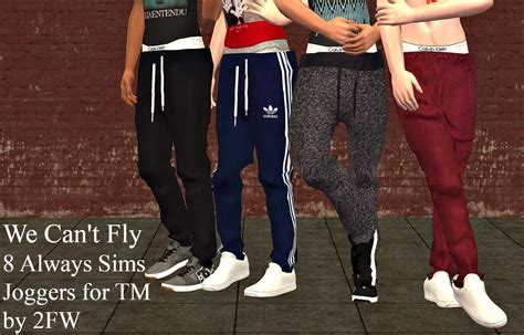 8 Always Sims Joggers For Tm