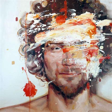 portrait painting cesar biojo design gallerist rare