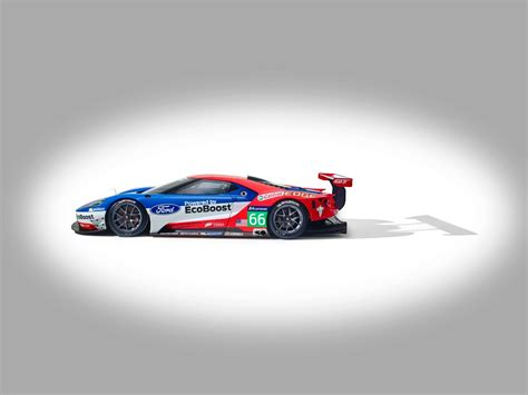Ford Gt Le Mans Racecar Confirmed To Debut At 2018 Daytona