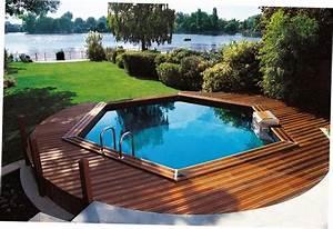 Grande Piscine Hors Sol : piscines hors sol le pr t plonger visitedeco ~ Premium-room.com Idées de Décoration