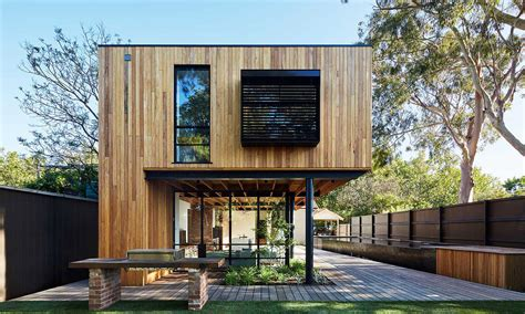 creative modern wooden houses