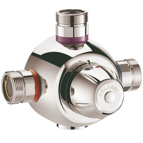 mitigeur thermostatique mitigeur thermostatique collectif et centralis 233 premix confort delabie bricozor