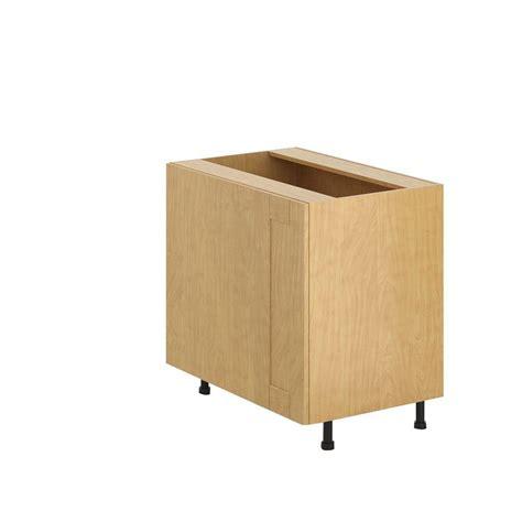 blind corner base cabinet lazy susan eurostyle 36x34 5x24 5 in blind corner base