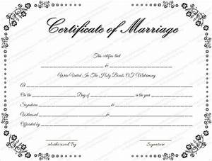 wedding certificate template 22 free psd ai vector With free marriage documents
