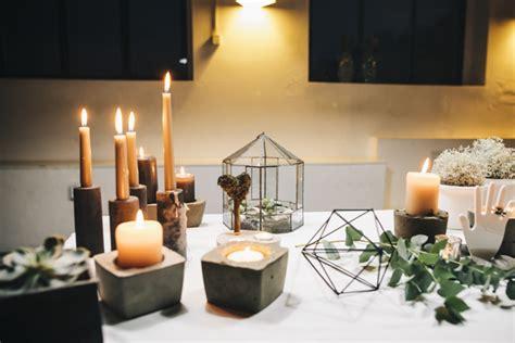 kerzenhalter selber machen diy mit beton kerzenhalter aus beton selber machen hochzeitsblog the wedding corner