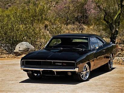 Muscle Cars Classic American Bad Dodge Ass