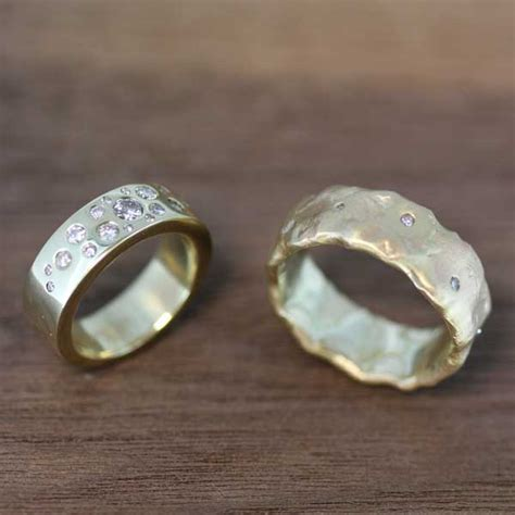 wedding bands from recycled gold sussex kent uk