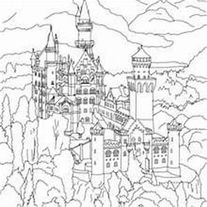 Schloss Neuschwanstein Zum Ausmalen Zum Ausmalen De