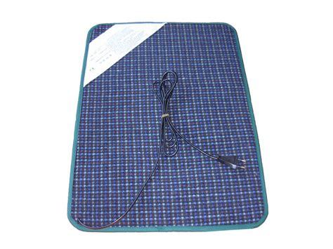 tapis de sol chauffant tapis chauffant de bureau chromex 42603