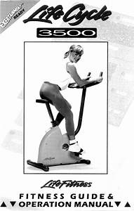 Life Fitness Exercise Bike 3500 User Guide