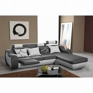 canape d39angle design 3 places avec meridienne droite et With canape avec meridienne 3 places