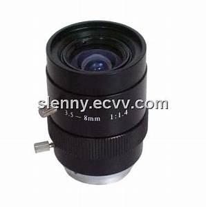 "3.5-8mm F1.4 1/3"" Manual Iris Vari focal CS Mount CCTV ..."