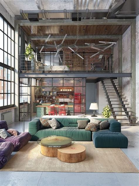 A Studio Loft Which Is A Home And Gallery by Best 25 Loft House Ideas On Modern Loft