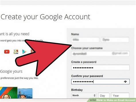 4 Ways To Make An Email Account Wikihow