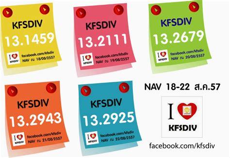 ข่าวสารด้านการลงทุนใน KFSDIV กองทุนเปิดกรุงศรีหุ้นปันผล ...