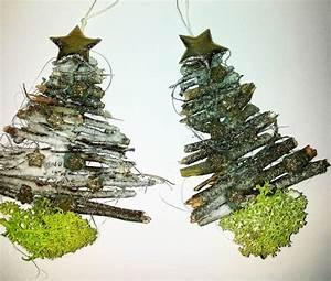 Holz Tannenbaum Basteln : kleine weihnachtsb ume aus gesammelten holz hand im ~ Articles-book.com Haus und Dekorationen