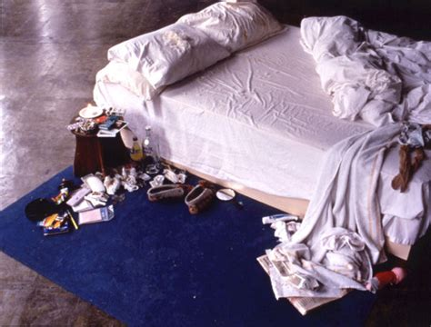 tracey emin my bed snippits and snappits the plot against
