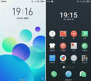 Meizu Nougat Flyme 6 supported devices and UI screenshots