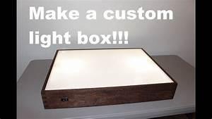 How To Build A Light Box