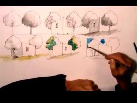 architektur zeichnen lernen youtube