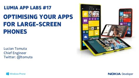 lumia app labs optimising your nokia lumia apps for large screen pho