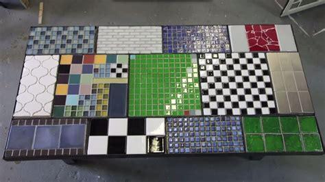 tile  table top  ceramic tile youtube