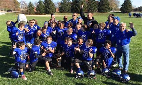 hunterdon huskies win  american youth football