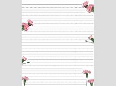 Printable Stationary Paper with Lines – Paper Worksheets