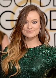 Olivia Wilde Golden Globes Hair