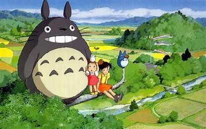 Totoro Neighbor Desktop Wallpapers Backgrounds Background