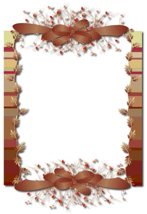 fall colors png photo frame frames pinterest colors