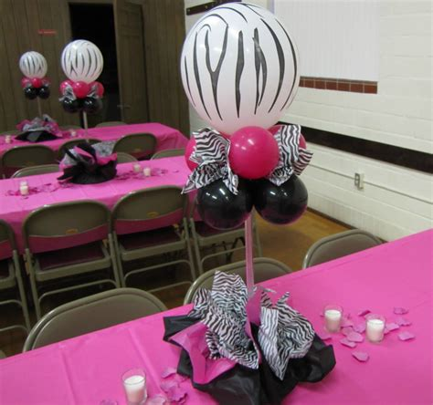 table decoration ideas for parties zebra party decorations party favors ideas